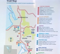 TrailMap of Salt Lake City Innovation Ecosystem
