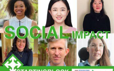 Social Impact Cohort Participants Announced