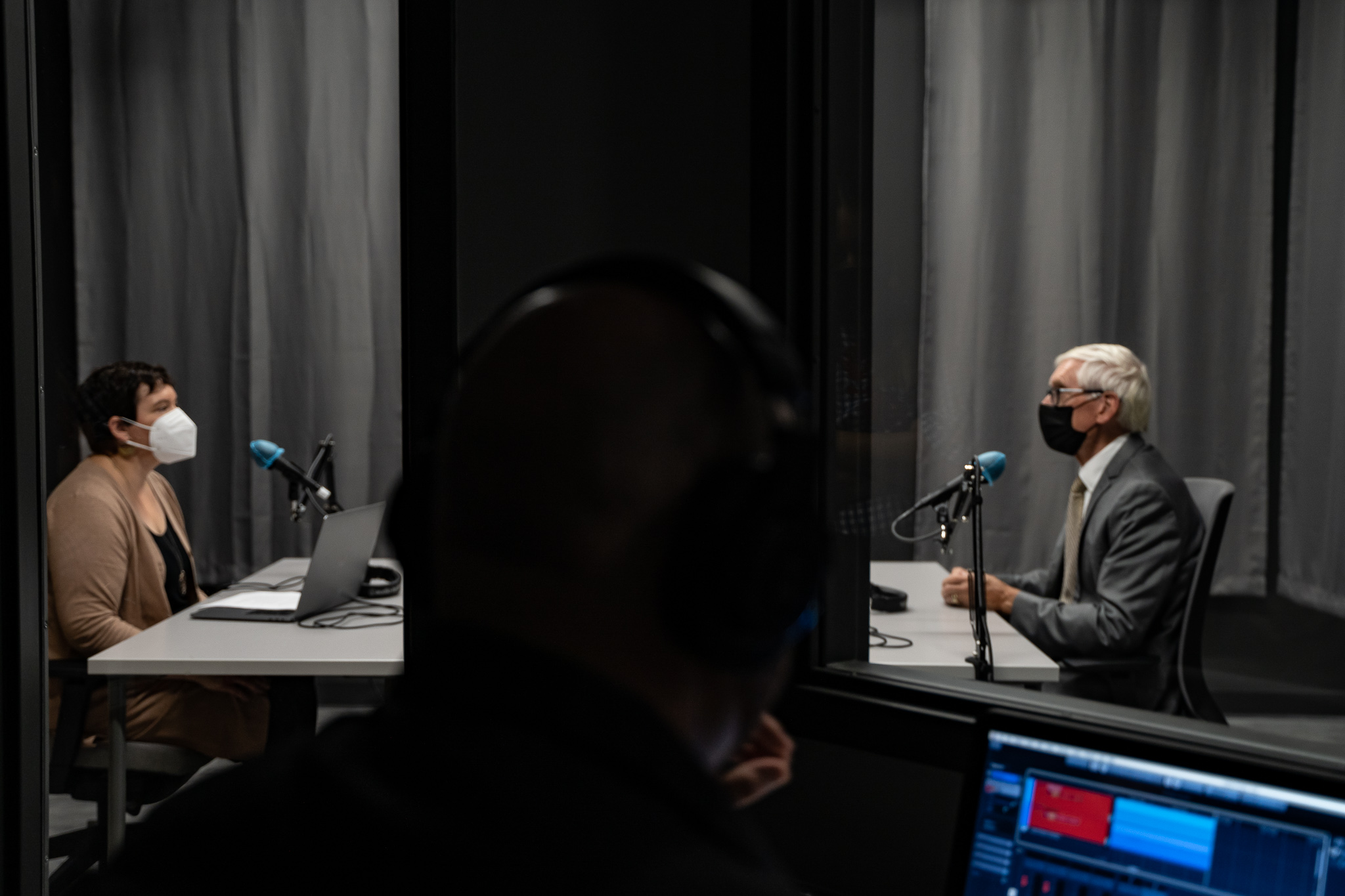 Recording the Innovate 608 podcast
